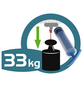 WENKO Spiegel »Vacuum-loc Quadro«, Kunststoff, silberfarben-Thumbnail