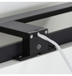 "TIGER Spiegelleuchte, ""Ancis"", 60 cm, schwarz, LED, 4000K-Thumbnail"