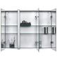 JOKEY Spiegelschrank, 3-türig, BxH: 80 x 65 cm, beleuchtet-Thumbnail