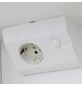 SIEPER Spiegelschrank »Ancona«, 3-türig, LED, BxH: 82,5 x 69 cm-Thumbnail