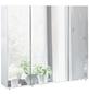 SCHILDMEYER Spiegelschrank »Basic«, Weiß BxH: 90 cm x 71 cm-Thumbnail