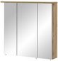 SCHILDMEYER Spiegelschrank »Dabor«, 3-türig, LED, BxH: 80,5 x 72,3 cm-Thumbnail