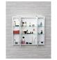 SCHILDMEYER Spiegelschrank »Dorina«, Weiß BxH: 80 cm x 71 cm-Thumbnail