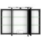 HELD MÖBEL Spiegelschrank »Florida«, 3-türig, LED, B x H: 100 x 66 cm-Thumbnail