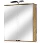 SCHILDMEYER Spiegelschrank »Isola«, 2-türig, LED, BxH: 60 x 70,5 cm-Thumbnail
