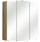 PELIPAL Spiegelschrank »Livorno«, 3-türig, LED, BxH: 68 x 73 cm-Thumbnail