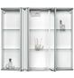 SIEPER Spiegelschrank »Modena«, 3-türig, LED, BxH: 82,5 x 70,2 cm-Thumbnail