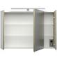POSSEIK Spiegelschrank »ROMA«, 3-türig, LED, BxH: 90 x 62 cm-Thumbnail