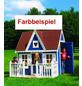 PROMADINO Spielhaus, BxHxT: 231 x 237 x 180 cm, natur-Thumbnail