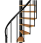 DOLLE Spindeltreppe »Calgary«, , , bis 280,5 cm Raumhöhe-Thumbnail