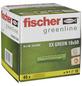 FISCHER Spreizdübel, SX GREEN, Nylon, 45 Stück, 10 x 50 mm-Thumbnail