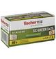 FISCHER Spreizdübel, SX GREEN, Nylon, 90 Stück, 5 x 25 mm-Thumbnail