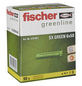 FISCHER Spreizdübel, SX GREEN, Nylon, 90 Stück, 6 x 50 mm-Thumbnail