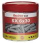 FISCHER Spreizdübel, SX, Nylon, 200 Stück, 6 x 30 mm-Thumbnail