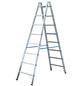 KRAUSE Sprossen-Doppelleiter »STABILO«, Anzahl Sprossen: 16, Aluminium-Thumbnail