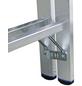 KRAUSE Sprossen-Doppelleiter »STABILO«, Anzahl Sprossen: 28, Aluminium-Thumbnail