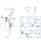 CORNAT Spülkasten, BxHxT: 410 x 460 x 165 mm, weiß-Thumbnail