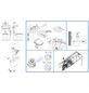 CORNAT Spülkasten, BxHxT: 455 x 370 x 140 mm, weiß-Thumbnail