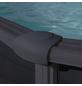 GRE Stahlwand-Pool,  oval, BxLxH: 375 x 610 x 132 cm-Thumbnail