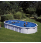 GRE Stahlwand-Pool,  oval, BxLxH: 470 x 915 x 132 cm-Thumbnail