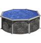 GRE Stahlwand-Pool,  rund, Ø x H: 350  x 120 cm-Thumbnail