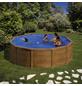 GRE Stahlwand-Pool,  rund, Ø x H: 460  x 120 cm-Thumbnail