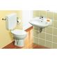 CORNAT Stand WC »Alpha«, Tiefspüler, weiß, mit Spülrand-Thumbnail