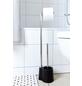 WENKO Stand-WC-Garnitur »Avola«, schwarz-Thumbnail