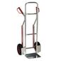 pro-bau-tec® Stapelkarre, max. 150 kg, Aluminium, aluminiumfarben-Thumbnail
