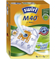 SWIRL Staubsaugerbeutel »MicroPor®«, aus Vlies, 4 Stück, M40-Thumbnail
