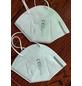 Staubschutzmaske, KN 95, FFP 2, Weiß, Gewebe, 5 Stück-Thumbnail