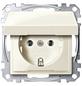merten Steckdose »System M«, weiß, Kunststoff/Metall, 250V-Thumbnail