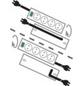 Brennenstuhl® Steckdosenleiste »Primera Line«, 10-fach, Kabellänge: 2 m, IP20-Thumbnail