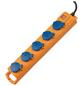 Brennenstuhl® Steckdosenleiste »Super Solid SL 554«, 5-fach, Kabellänge: 2 m, gelb-Thumbnail
