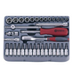 CONNEX Steckschlüsselsatz, COX580235, 35-tlg. Set, 6,3 mm-Thumbnail