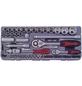 CONNEX Steckschlüsselsatz, COX580267, 67-tlg. Set, 6,3 + 12,5 mm-Thumbnail
