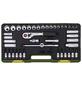 PROXXON Steckschlüsselsatz »Industrial« 42-teilig, Schlüsselgröße: 6,3 und 12,5 mm  mm-Thumbnail