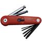 CONNEX Stiftschlüsselsatz 7-teilig, Schlüsselgröße: 2,5; 3; 4; 5; 6; 8; 10 mm-Thumbnail