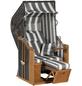 Strandkorb »Rustikal 250 Plus 1 S 1214«, BxTxH: 95x90x160 cm-Thumbnail