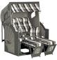 Strandkorb »Rustikal 405 Z Comfort XL 1217«, BxTxH: 135x90x160 cm-Thumbnail