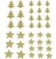 CASAYA Streusterne/-bäume mit Glitter, 20 g-Thumbnail