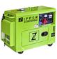 ZIPPER Stromerzeuger »ZI-STE7500DSH«, 5,9 kW, Diesel, Tankvolumen: 14,5 l-Thumbnail