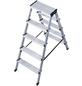 KRAUSE Stufen-Doppelleiter »MONTO«, Anzahl Sprossen: 10, Aluminium-Thumbnail