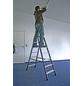 KRAUSE Stufen-Doppelleiter »MONTO«, Anzahl Sprossen: 14, Aluminium-Thumbnail