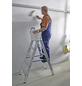 KRAUSE Stufen-Doppelleiter »STABILO«, Anzahl Sprossen: 10, Aluminium-Thumbnail