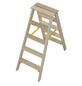KRAUSE Stufen-Doppelleiter »STABILO«, Anzahl Sprossen: 10, Holz-Thumbnail