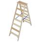 KRAUSE Stufen-Doppelleiter »STABILO«, Anzahl Sprossen 14-Thumbnail