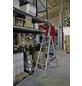 KRAUSE Stufen-Doppelleiter »STABILO«, Anzahl Sprossen: 14, Aluminium-Thumbnail