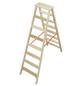 KRAUSE Stufen-Doppelleiter »STABILO«, Anzahl Sprossen: 16, Holz-Thumbnail