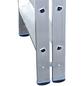 KRAUSE Stufen-Doppelleiter »STABILO«, Anzahl Sprossen: 20, Aluminium-Thumbnail
